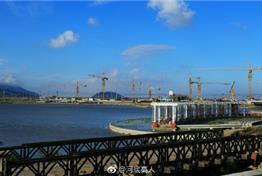 崛起中的龙港新城